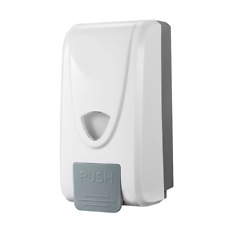 THREE WALL MOUNTED PUSH OPERATED SANITISER AND SOAP DISPENSER x 3 FREE POSTAGE