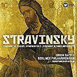 LN= Stravinsky: Symphonies Simon Rattle Symphony in 3 Movements