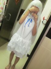 Halloween cos ANOHANA Meiko Menma Honma Costume Cosplay +Honma Meiko cosplay wig