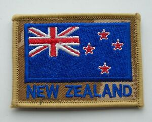 New Zealand Army National Flag Patch/Badge