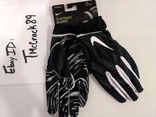 NWT Nike Superbad Football Gloves Receiver WR Adult Sz XXL Wht Blk PGF873-091