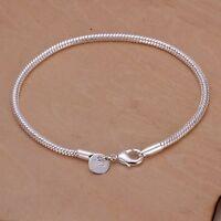 Damenarmband Schmuck 20 cm - Damen Armband NEU pl. mit Sterlingsilber DA187 T::A