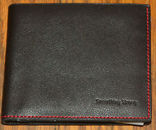 Something Strong Something Worthy Men's Black / Charcoal Wallet SS737