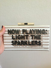 """KATE SPADE Clutch """"now playing: light the sparklers"""""""