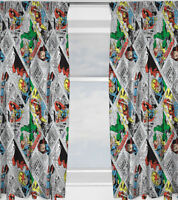 Marvel Avengers Curtains 72s - Retro