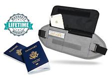 CutShotPro Travel Money Belt, Hidden Wallet, Passport Holder, Built-in RFID