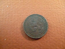 1904 Netherlands 1 cent coin