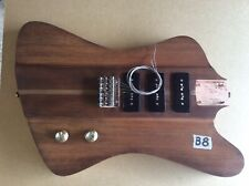 More details for loaded firebird style electric guitar body (b8)