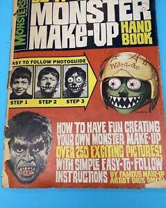 Famous Monsters Do-It-Yourself Monster Makeup Handbook (Warren 1965) Dick Smith