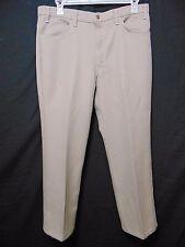 Vintage 70s Levis Action Slacks Mens Pants W 38 x I 28.5 Light Tan Scovill USA