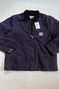 Jacket CARHARTT Detroit Jacket (Dark Navy Aged Canvas) Size M