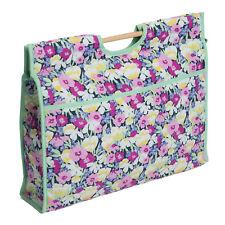 Hobby Regalo hgcb/221 Impresión Flor Silvestre Artesanía/tejer bolsa de almacenamiento 11x43x33.5cm