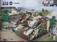 Sluban - Sturmgeschütz III WWII Deutscher Jagdpanzer tarnfarben Cobi Lego