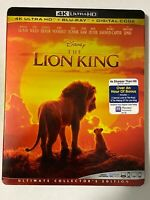Lion King - (4K Ultra HD + Blu-ray + Digital; 2019) w/Slipcover - NEW