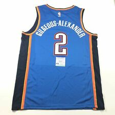Shai Gilgeous-Alexander signed jersey PSA/DNA Oklahoma City Thunder Autographed