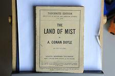 1926 - A. CONAN DOYLE - THE LAND OF MIST