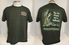 Redneck Sportsman T-Shirt You Kin Always Tell A Redneck... Hunting Funny Size L