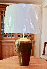 Cobre Martillado muy grandes Lámpara De Mesa Con Pantalla De 60cm nuevo RV Astley
