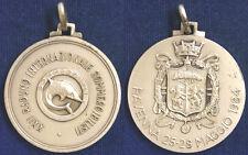 Medaglia 22° Raduno Internazionale Sommergibilisti Ravenna Maggio 1984 #PL343