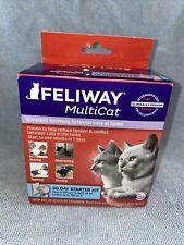 Feliway MultiCat - 30 Day Starter Kit - 700 sq. ft. Exp: 12/2022