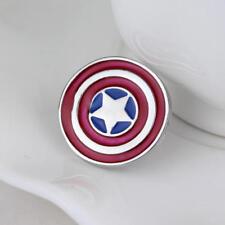 Captain America Marvel Avengers Denim Jacket Clothing Brooch Pin Unisex Gift Bag