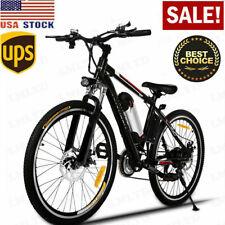 VIVI 26'' 350W Electric Bike Mountain Bicycle 36V 10.4Ah Li-Battery 21Speed Gear