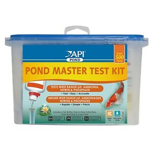 API Pond Care Master Test Kit  Phosphate, Ammonia, Nitrite, pH 500 Tests
