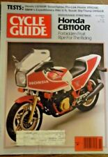 Cycle Mag November 1981 -Honda CB1100R