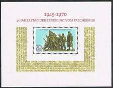 DDR postfris 1970 MNH block 32 - Bevrijding 25 jaar