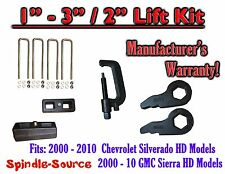 "00 - 10 CHEVY GMC 2500 3500 HD Silverado Sierra 3"" Keys + 2"" Blocks Unload TOOL"