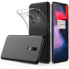Clear Gel Case TPU Skin Cover For OnePlus 6
