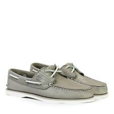 Timberland - Classic 2 Eye Boat Shoes in Taupe - Size UK 8 - RRP £115
