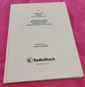 RARE RadioShack Hard Cover First Interactive RadioShack Book Catalog *RARE* VTG!