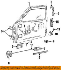 Dodge CHRYSLER OEM 87-93 Dakota Front Door-Lock Latch Kit 5011675AA