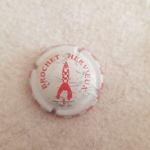 Capsule de champagne hervieux  brochet tintin numéro 12 voir etat rare