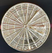 Gold Metal Vintage Roulette Table Wheel Trophy Topper Award !