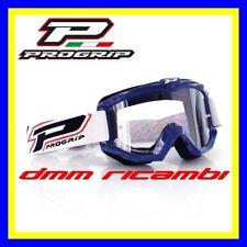 Occhiali PROGRIP 3201 Cross Enduro Motard ATV Quad PitBike Bici MTB DH Blu