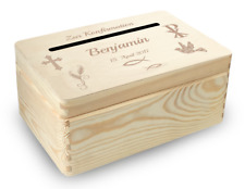 kl. Holzbox Briefbox (K4) Konfirmation Kommunion Geldgeschenke incl. Lasergravur