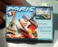 Moulin Rouge, Paris, France Resin Fridge Magnet Tourist Travel Souvenir GIFT