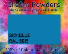 RAL 5015 Sky Blue Powder Coat 1KG Refurbishment Powder Coating Alloy Wheels
