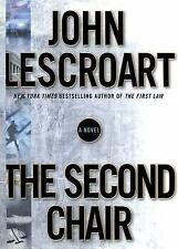 The Second Chair by John Lescroart (2004, Hardcover) FIRST EDITION Fiction Novel