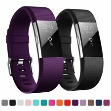 For FITBIT CHARGE 2 strap Replacement Wrist Band Wristband Metal Buckle