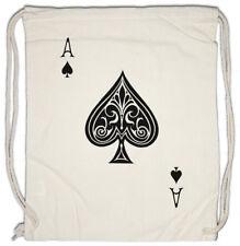 ACE OF SPADES I Turnbeutel Spade Poker Card Casino Texas Royal Flush Pik