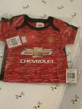 Manchester United 20/21 Baby Grows (3-6 months) BNWT