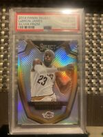 2014-15 Panini Select LEBRON JAMES #119 Silver Prizm  PSA 10 Gem Mint! 💎