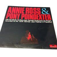 Annie Ross & Pony Poindexter/Berlin All Stars Live 1966 UK CBS Vinyl LP EX/VG+