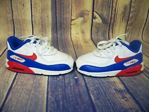 Nike Air Max Red White And Blue Toddler Sneakers Size US 8