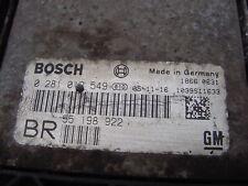 RESET Vauxhall Zafira Diesel ECU Opel Z19DT 1.9 Ecm 0281012549 55198922 Pcm