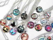 US Seller - 25 pieces vintage hippie necklace wholesale jewelry bulk lot
