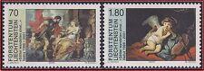 2000 LIECHTENSTEIN 1168/1169** TABLEAUX RUBENS REMBRANDT PAINTINGS